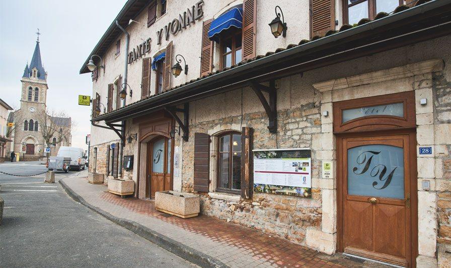 hôtel tante Yvonne Quincieux