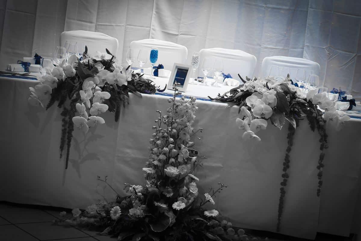 La table des mari s h tel restaurant tante yvonne - Table des maries ...