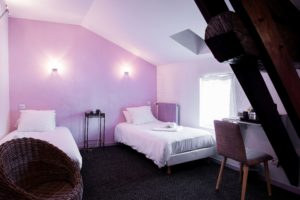 chambre-twin-hotel tante-yvonne